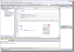 Clarion SharpDevelop Based IDE